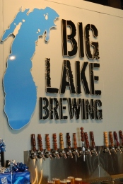 Big Lake Brewing taps