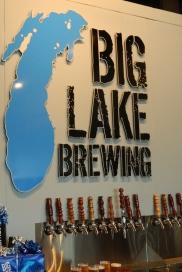 Big Lake Brewing taps